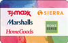T.J.Maxx | Marshalls | HomeGoods | HomeSense| Sierra