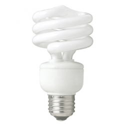TCP SpringLight™ CFL 19 Watt (75W) Spiral Warm White (2700K)