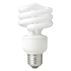 TCP SpringLight™ CFL 19 Watt (75W) Spiral Warm White (2700K)