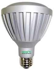 Greenlite LED 8 Watt (40W) Dimmable PAR30 Warm White (3000K) (25°Beam Angle)