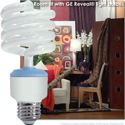 GE Reveal® CFL 26 Watt (100W) Spiral Warm White (2500K)