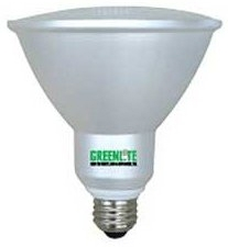Greenlite CFL 23 Watt (100W) PAR38 Warm White (2700K)