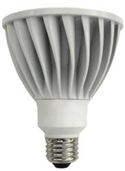 TCP LED 14 Watt (75W) Dimmable PAR30 Warm White (3000K) (25° beam angle)
