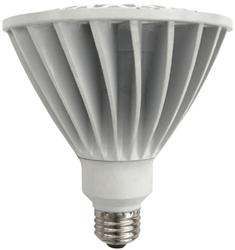 TCP LED 17 Watt (90W) Dimmable PAR38 Warm White (3000K) (25° Beam Angle)