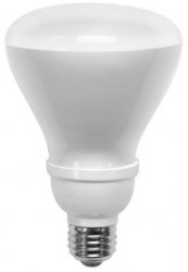 TCP CFL 14 Watt (65W) BR30 Reflector Warm White (2700K)