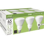 TCP CFL 14 Watt (65W) R30 Reflector Six-Pack Warm White (2700K)
