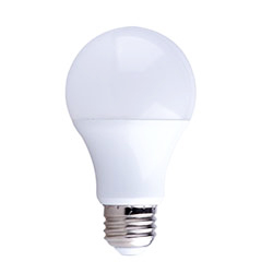 12 Count Multi-pack - Simply Conserve LED 9 watt (60w) Dimmable A19 2700K (Warm White)