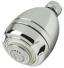 Niagara Chrome Earth® Showerhead - 1.5 gpm