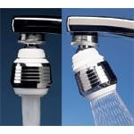 AM Dual Spray Faucet Swivel Aerator