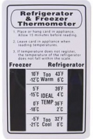 Niagara Refrigerator/Freezer Temperature Card