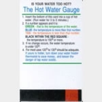 Niagara Water Temperature Card