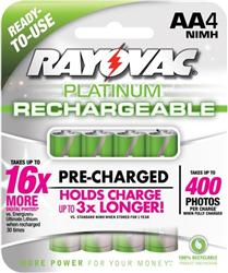 Rayovac Platinum NiMH AA Battery