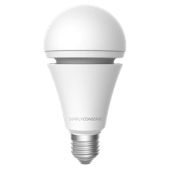 Simply Conserve LED 7 watt (60w) with Battery Backup (2700K)