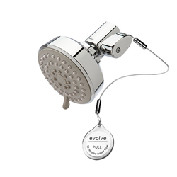 Evolve Multifunction Shower Head + ShowerStart® TSV