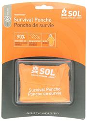 S.O.L. Survive Outdoors Longer Survival Poncho