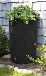 Impressions 90 Gallon Bark Rain Saver - Black