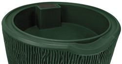 Impressions 90 Gallon Bark Rain Saver- Green