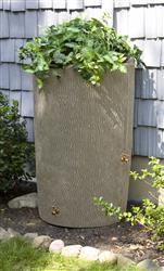 Impressions 90 Gallon Bark Rain Saver- Sandstone