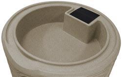 Impressions 50 Gallon Palm Rain Saver- Sandstone