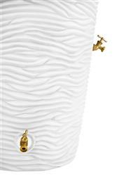 Impressions 50 Gallon Palm Rain Saver - White