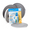 """Closed Cell Foam Tape Weatherstripping 1/8"""" Height x 1/4"""" Width x 17' Length"""
