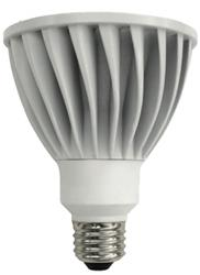TCP LED 14 Watt (75W) Dimmable PAR30 Cool White Long Neck (4100K)