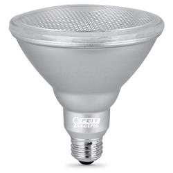 Feit 2 Pack LED 13.2 Watt (90w) Dimmable Weatherproof PAR38 Warm White (3000k)