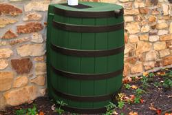 Rain Wizard 40 gallon - Darkened Ribs - Green