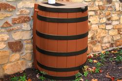 Rain Wizard 40 gallon - Darkened Ribs - Terra Cotta
