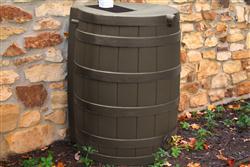 Rain Wizard 40 gallon - Oak
