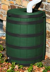 Rain Wizard 50 gallon - Darkened Ribs - Green