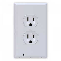 4 Pack - SnapPower Outlet Guidelight - White Duplex