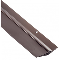 Triple Seal Door Seal – Door Sweep - Brown