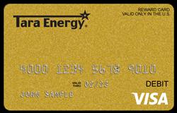 Tara Energy Visa Prepaid Card
