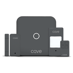 Cave Smart Home Security Starter Kit | Includes Hub, PIR & Sensors, and Free Cave App (MSRP $299.95)