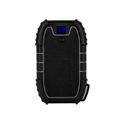 Pebble 15,000mah Rugged Water Resistant Power Bank with Built-In LED Torch (MSRP $119.95)