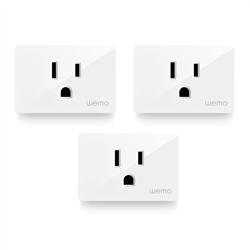 Belkin Wemo WiFi Smart Plug 3-Pack