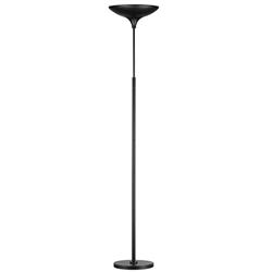 Touch Sensitive LED Torchiere - 43 Watts (Black)