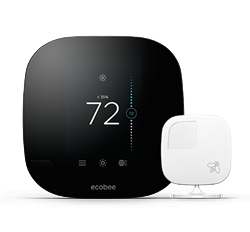 Ecobee3 Wi-Fi Thermostat with Remote Sensor, HomeKit - Enabled