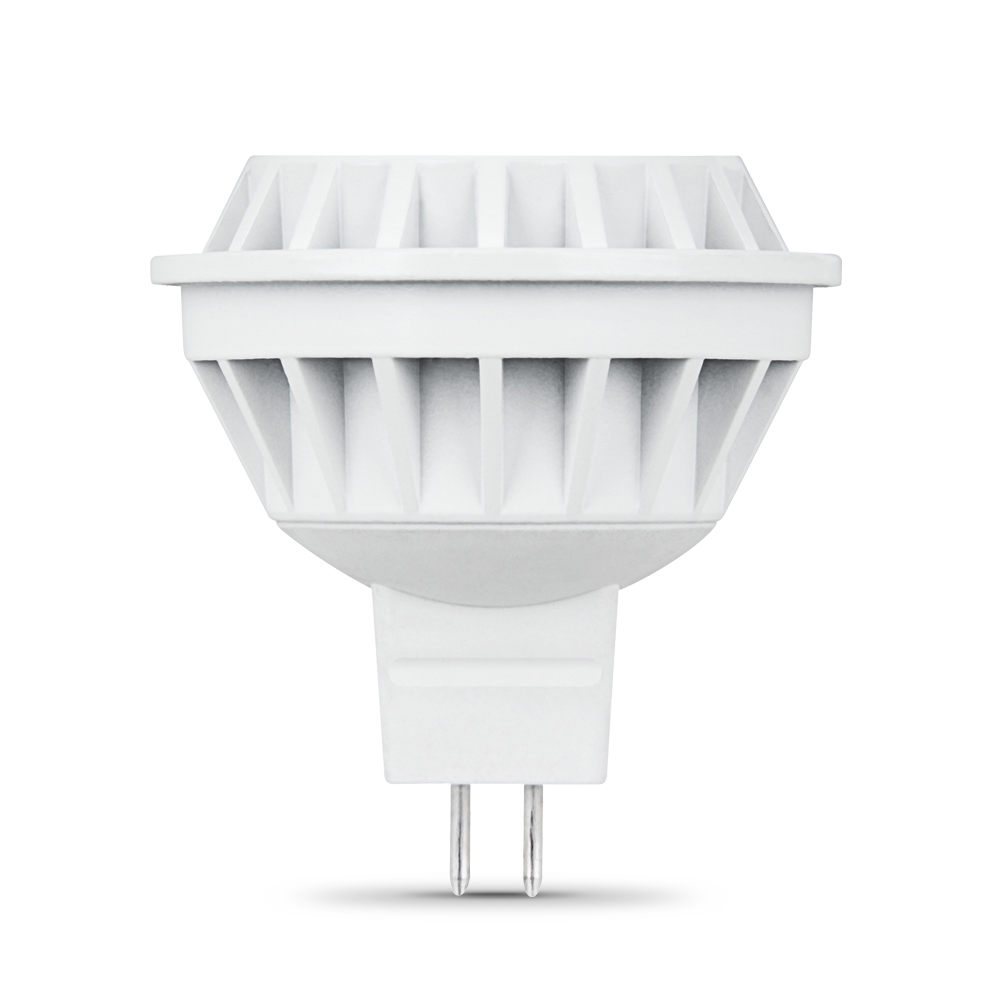 Feit Electric 50 Watt Medium Base Mr16 Dimmable Shape: Feit LED 7 Watt (35W) Dimmable MR16 GX5.3 Warm White (3000K