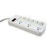 2 Pack - Niagara 8 Outlet Energy Saving Surge Protector